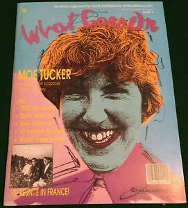 VELVET UNDERGROUND ~ Thank Andy Warhol  US 1990 Flexi w/ WHAT GOES ON Magazine