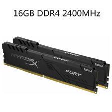 Für Kingston HyperX 16GB 32GB 64GB DDR4-2400 MHz PC4-19200 Black Desktop RAM NEU