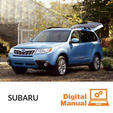Subaru - Service and Repair Manual 30 Day Online Access