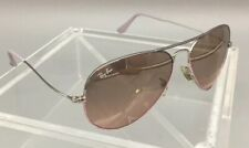 Ray-Ban RB3025 Aviator Sunglass Frames Large Metal 58 14 Italy - As Is - D35