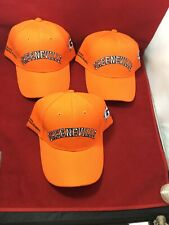 NOS - SUPER RARE MILB GREENEVILLE ASTROS NEON ORANGE ADJUSTABLE HAT