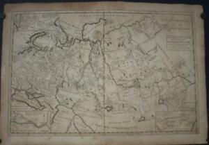 RUSSIAN EMPIRE RUSSIA 1717 HERMANN MOLL UNUSUAL ANTIQUE COPPER ENGRAVEDMAP