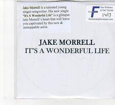 (FB648) Jake Morrell, It's A Wonderful Life - DJ CD