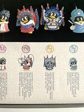 Peking Opera China Drama Metal Bookmarks Cartoon Characters