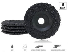 """5 Pack of 4.5"""" grit 16 ultra wheels grinding silicon carbide heavy duty discs"""