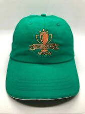 PGA Golf Arrow Partnership Cup Cap Hat Adult Adjustable Green Polyester