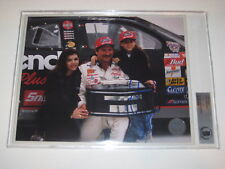 DALE EARNHARDT SR Signed 8 X 10 PHOTO Beckett Authenticated & Encapsulated