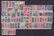 FRANCE ANNEE 1941 COMPLETE, N° 470 à 537, Cote: 177 €