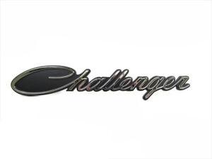 2015-2020 DODGE CHALLENGER CHROME EMBLEM BADGE NAMEPLATE OEM NEW MOPAR