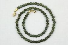 Jade Round Stone Costume Necklaces & Pendants