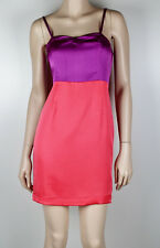 LADAKH Duo Colour Cocktail Mini Dress Sz 8 -  Buy 5 Items = FREE POST #1166