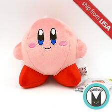 "Genuine 6"" Kirby Allstar Nintendo Plush Japan Cute Stuffed Animal Toy Doll Pink"