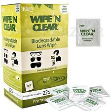 Flents Wipe N Clear Glasses 225 Lens Cleaning Wipes Camera Optical Pre-Moistened