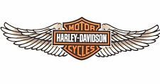 Genuine Harley Davidson Winged Bar & Shield Decal Sticker DC339124