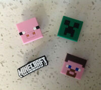 Minecraft Mixed PVC Shoe Charms