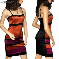 Trägerkleid Minikleid Sommerkleid verstellbare Träger Reißverschuss 34 36 38 40