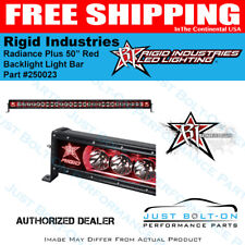 "Rigid Industries Radiance Plus 50"" Red Backlight Light Bar #250023"