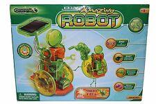 Greenex DIY Amazing Robot Eco learning Solar energy crank generator Green d.i.y