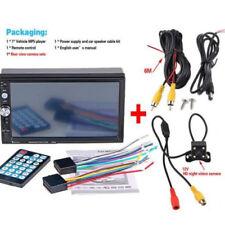 """7"""" 2 Din Bluetooth Coche Reproductor Táctil MP5/USB/GPS Estéreo Radio +Cámara"""