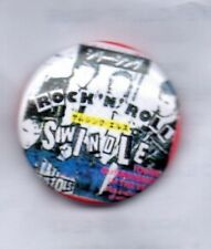 SEX PISTOLS BUTTON BADGE Great Rock 'N' Roll Swindle PUNK ROCK BAND 25mm PIN