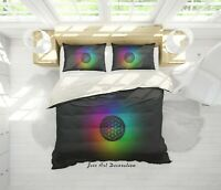 3D Coldplay Rock Band Quilt Cover Sets Pillowcases Duvet Comforter Cover B09