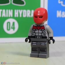 CUSTOM LEGO MINIFIGURE    Red Hood inspired by DC Batman