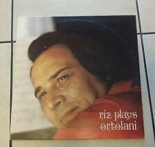 Riz Ortolani – Riz Plays Ortolani - EMI 3C 054-17953 - 1982 - RARO -
