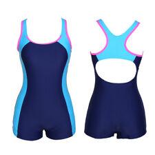 Women Monokini Swimwear Swimsuit Bathing Beachwear Bikini Training Sportswear