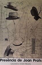 Joan Miro Affiche en offset art abstrait abstraction surréaliste Joan Prats