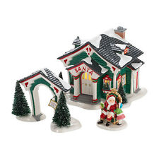 DEPT 56 THE ORIGINAL SNOW VILLAGE A VISIT WITH SANTA 2012 ISSUE LAST ONE!