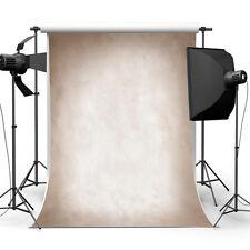 3x5ft Vinyl Colore Marrone Chiaro Studio Fotografico Sfondo Foto Prop. UK venditore