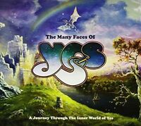 Yes.=V / A= Many Faces Of Yes Many Faces Of Yes 3 CD album NEW sealed