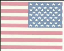 "American United States Flag sticker/window decal 4"" X 3"""