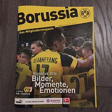 BVB@BORUSSIA DORTMUND@Mitlgliedermagazin BORUSSIA@Heft Nr. 118@BVB-Augsburg