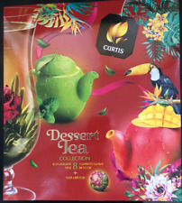 Curtis Dessert Tea Collection 8 Flavors Gift Set New Sealed Box Import Variety