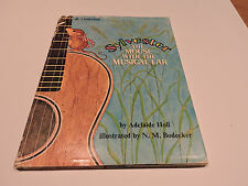 SYLVESTER THE MOUSE WITH THE MUSICAL EAR 1973 dust jacket BIG GOLDEN BOOK guitar