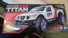 TAMIYA RACING TRUCK NISSAN TITAN DT-02 chassis BRAND NEW BOXED RC Car Kit