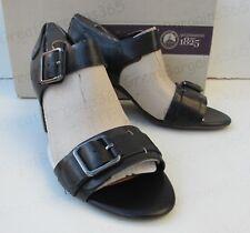 Clarks Ralene Dazzle Black Leather Sandals 932 UK 4.5d EU 37.5