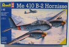 Revell 04533 - Me 410 B-2 Hornisse - 1:48 - Flugzeug Modellbausatz - Model Kit