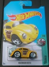 HOT WHEELS VW Beetle finestra ovale-Giallo