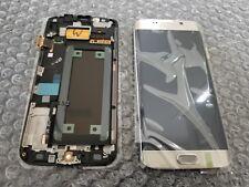 Brand New Samsung Galaxy S6 Edge Gold G925V G925 LCD Digitizer Screen + Frame