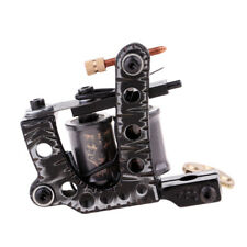 Tattoo Machine Gun Liner & Shader Alloy Frame 10 Wraps Copper Coils Machine