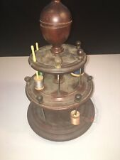 ANTIQUE VICTORIAN SEWING PIN CUSHION SPOOL HOLDER
