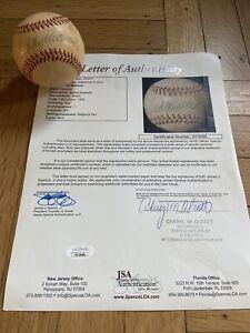 Ted Williams Auto Autographed Signed Baseball JSA COA