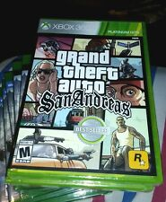 GRAND THEFT AUTO SAN ANDREAS XBOX 360 RETAIL GAME YFOLD FACTORY SEALED BRAND NEW