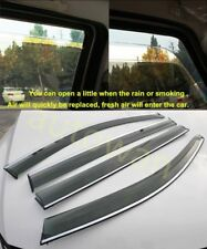 Window Visor Vent Shades Sun Rain Guard For 2014-2016 VW Golf 7 MK7