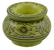 Ceramic Ashtray Moroccan Outdoor Smokeless Cigar Patio Garden Ashtrays Medium