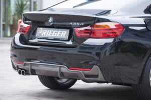 Rieger 99265 BMW F32/F33 4series Rear Diffuser Apron for M-Technic Rear Bumper