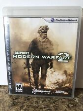 Call of Duty: Modern Warfare 2 MW2 (PlayStation 3) PS3 GAME With Manual