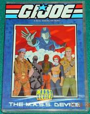 G.I. JOE, THE M.A.S.S. DEVICE, DVD, NEW (5 EPISODES)